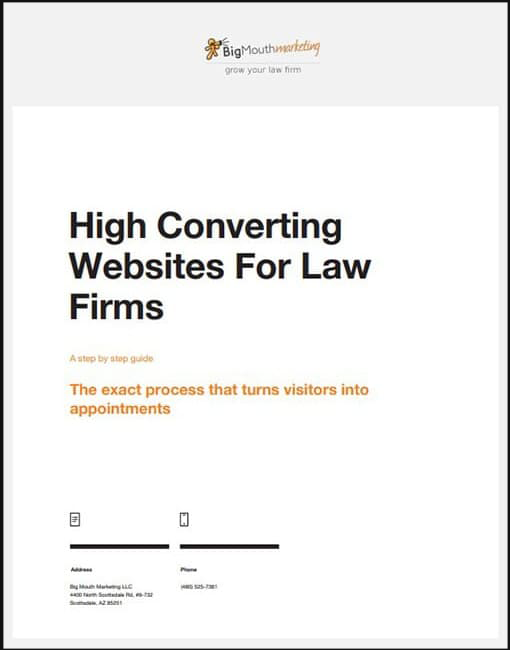 High Converting Websites For Law Firms: A step by step guide
